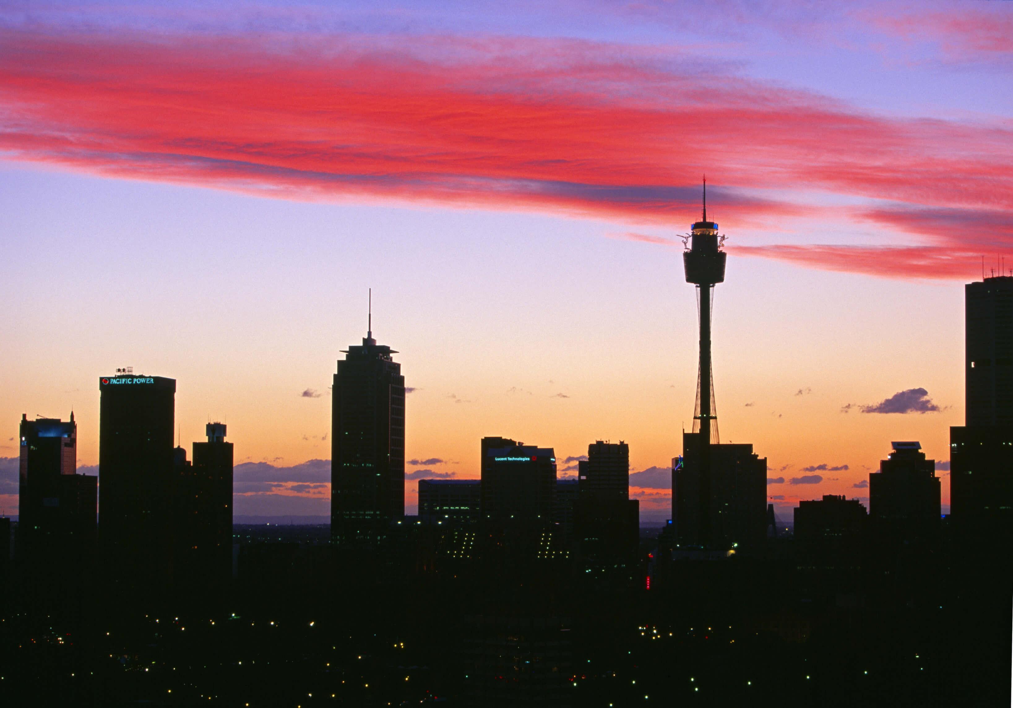 Sydney Weather sunset