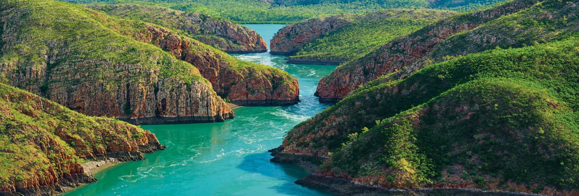 Horizontal falls australia